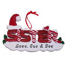 Sister Personalized Christmas Ornament