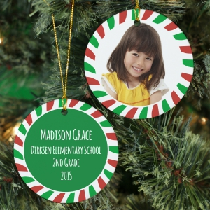 All About Me Personalized Ornament