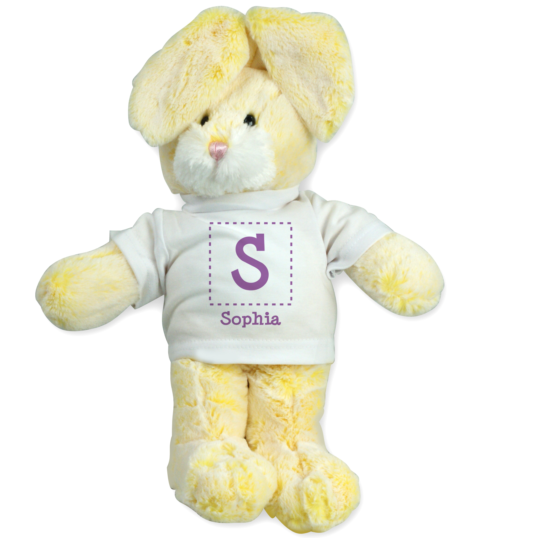 Personalized Initial and Name Bunny | Personalized Easter Bunnies