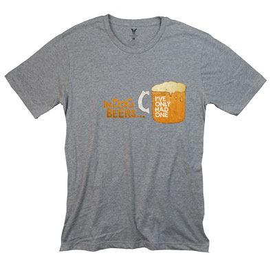 In Dog Beers Pocket T-Shirt PT311087X