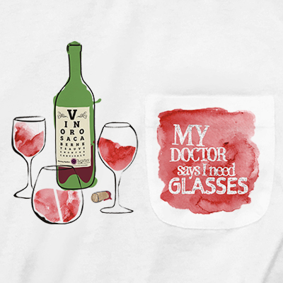 My Doctor Says I Need Glasses Pocket T-shirt PT311088X