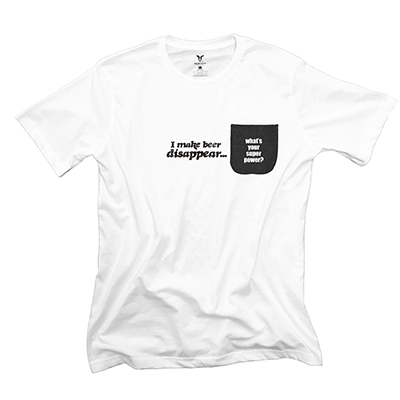 I Make Beer Disappear Pocket T-Shirt