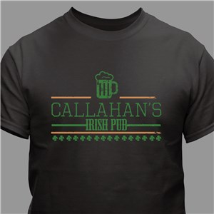 Personalized Irish Pub T-Shirt | Personalized T-shirts