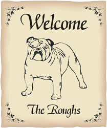 Personalized Dog Breed Welcome House Flag | Personalized House Flags
