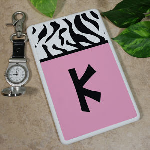 Custom Zebra Print Kindle Fire Cover