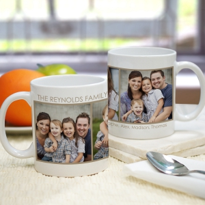 3 Photo Mug | Personalized Fathers Day Gift