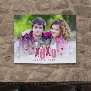 Personalized Couples Photo Canvas