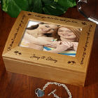 Who You Have Beside You Photo Keepsake Box