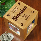 Our Hearts Grandma Photo Cube