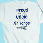 Proud Air Force Youth Sweatshirt