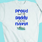 Proud Navy Youth Sweatshirt