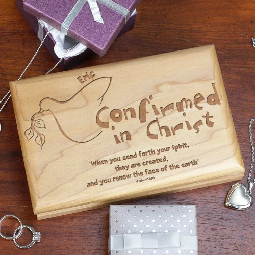 Your Spirit Personalized Confirmation Valet Box