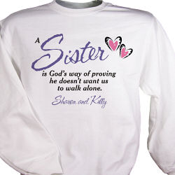 God's Way Personalized Sweatshirt