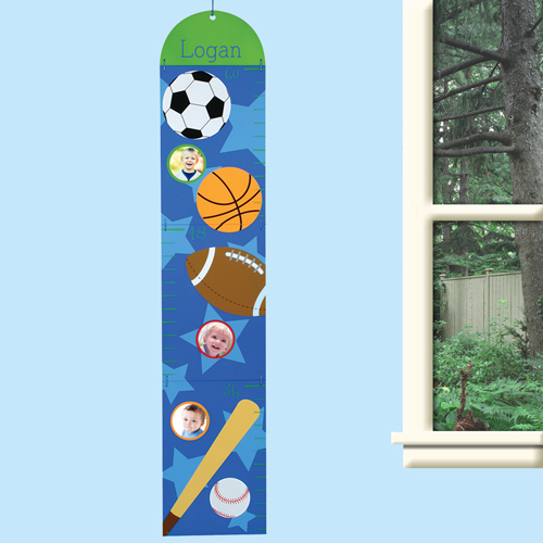 Personalized Sports Growth Chart V00010