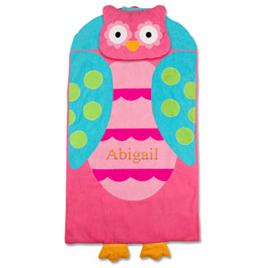Embroidered Owl Nap Mat E000271