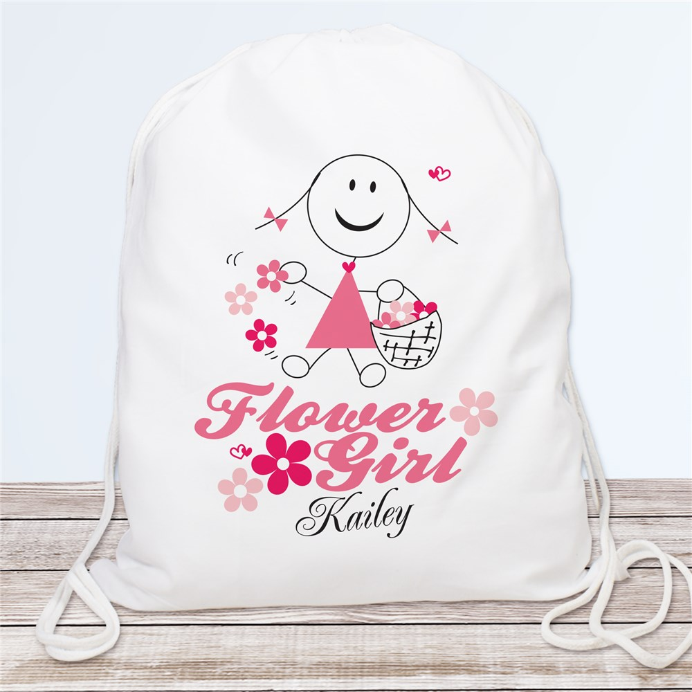 Personalized Flower Girl Sports Bag | Personalized Flower Girl Bags