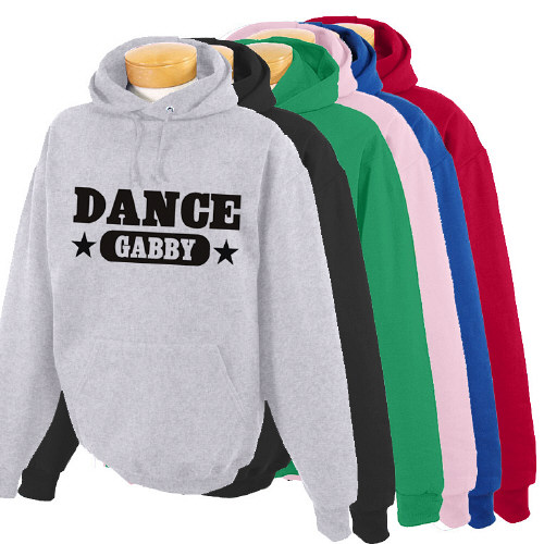 Personalized Dance Hooded Youth Sweatshirt