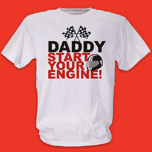 Personalized Racing T-Shirt
