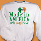 Made With Irish Parts Sweatshirt
