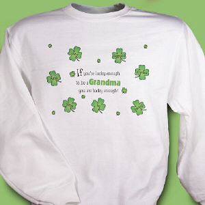 Irish Lucky Enough Sweatshirt