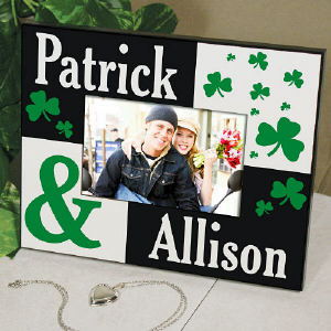 Personalized Irish Couple Printed Frame