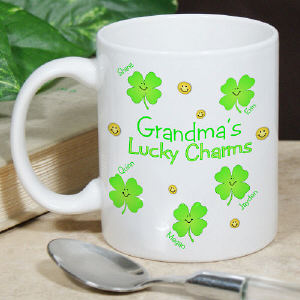 Lucky Charms Personalized Coffee Mug