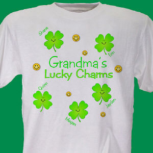 Lucky Charms Personalized T-Shirt