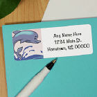 Aquatic Animals Address Labels