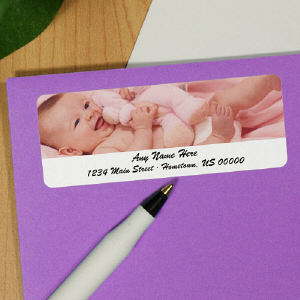 Picture Perfect Horizontal Photo Address Labels