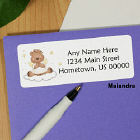 Heavenly Blessing Bear Address Labels