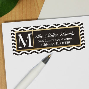 Chevron Address Labels 197140x