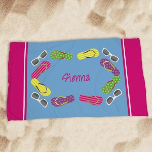 Personalized Beach Towel U591633