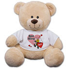 Personalized Bee Mine Teddy Bear