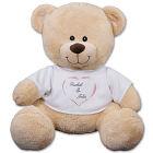 Personalized Heart Couple Teddy Bear