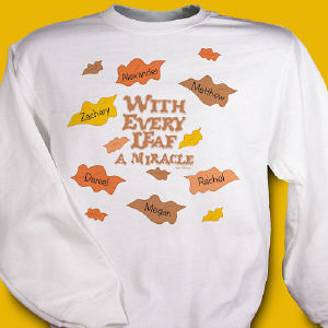 Every Leaf a Miracle Sweatshirt