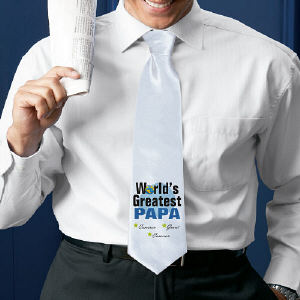 World's Greatest Personalized Neck Tie