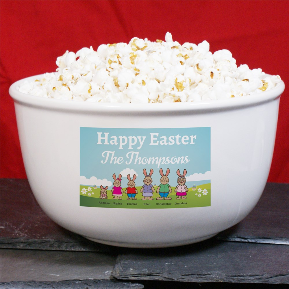 Happy Easter Personalized Bowl | Personalized Gifts For Easter