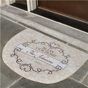 Custom Doormats | Light Colored Personalized Doormat