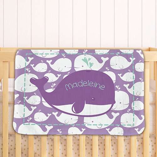 Personalized Baby Fleece Blanket | Personalized Baby Gifts