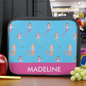 Personalized Mermaid Lunch Tote