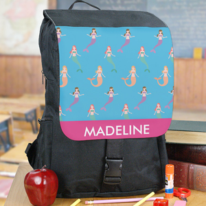 Personalized Mermaids Backpack