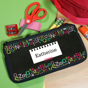 Personalized Letters Pencil Case