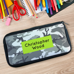 Personalized Urban Camo Pencil Case U104767