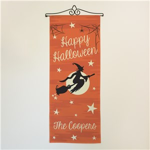 Personalized Happy Halloween Wall Hanging