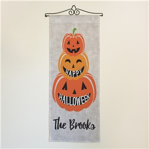 Personalized Pumpkin Wall Hanging