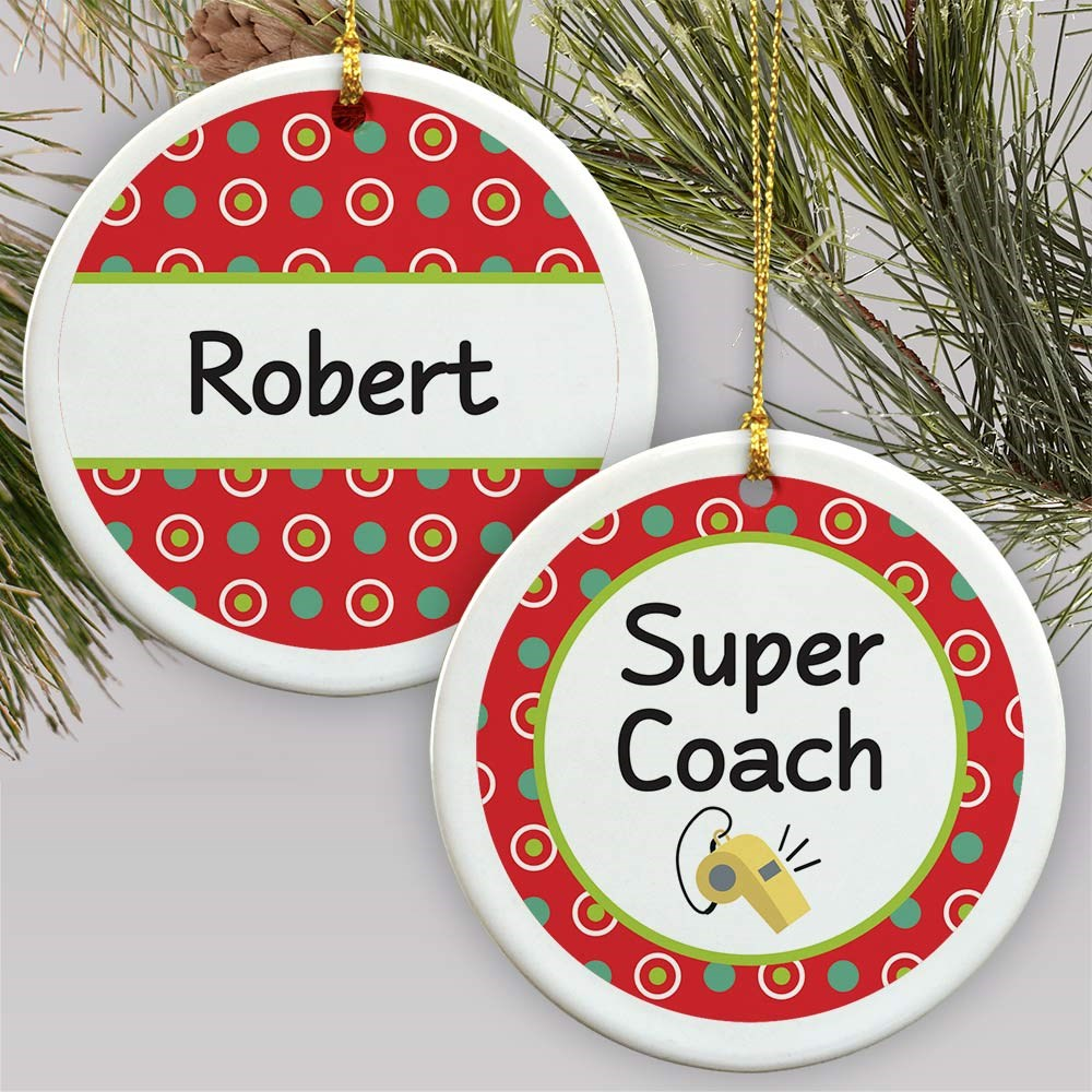 Personalized Occupation Ornament | Personalized Teacher Ornaments