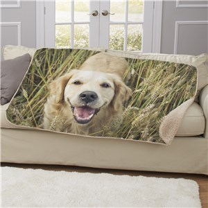 Photo Sherpa for Pet | Personalized Pet Blankets
