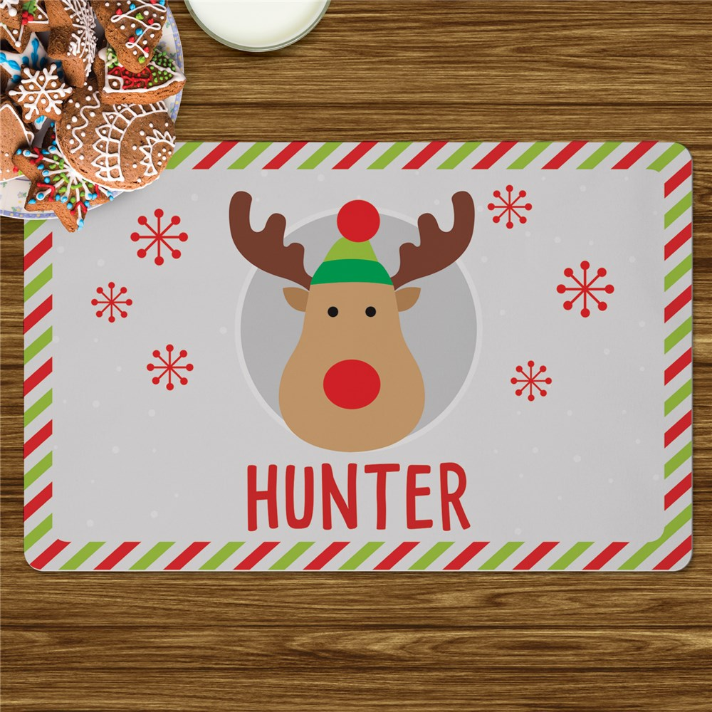 Personalized Holiday Character Placemat U1078693
