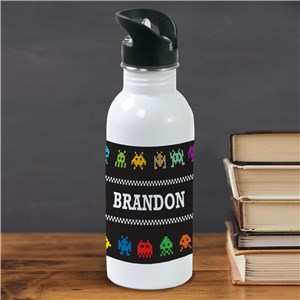 Personalized Gamer Water Bottle | Personalized Water Bottle