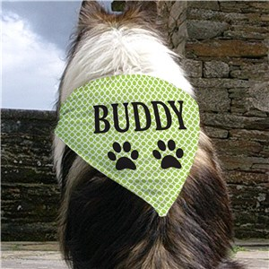 Personalized Dog Bandanas | St. Patrick's Day Dog Bandana